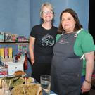 Aileen Markey, Unglu-d and Susan Heraghty, at the Cattleboat Food Festival held in the Spirit Store.