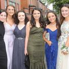 Michaela McGeown (left), Blackrock, Ciara Briody, Castletown Road, Aoife McGeough, Knockbridge, Evelyn Kane, Ard Easmuinn, Hannah Scanlon, Haggardstown, Hannah Russell, Ardee, Siofra McCrum, Blackrock and Hannah Kelly, Blackrock who attended the St. Vincent's Secondary School Debutante Ball in Dunboyne Castle Hotel