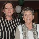 Samantha Tipping with Rose and Kim O'Hare at the O'Hanlon Park Residents' Christmas party in The Lisdoo
