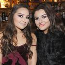 Hannah Kerley, Cooley Park and Allana Smyth, Mullaharlin Road in Courtney's Bar