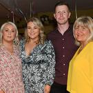 Orla Sheridan (centre) with family members Pat, Niamh, Ciaran and Geraldine at her surprise 30th birthday party held in the Castle Bar