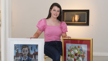 Former Texaco Children's Art Exhibition prizewinner, Juliette Morrison