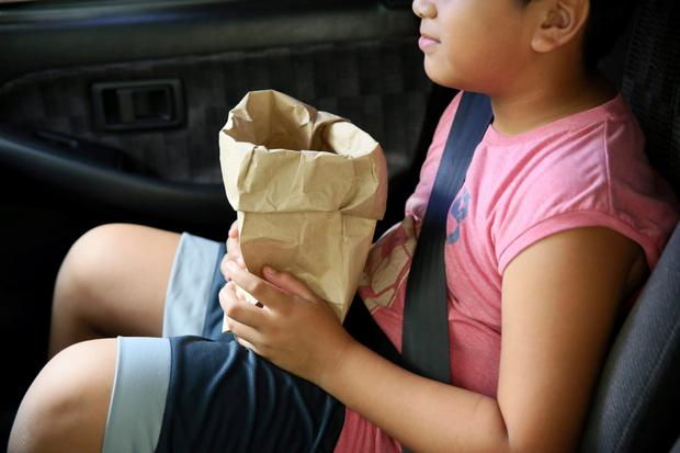 Motion or travel sickness is very common, especially in children