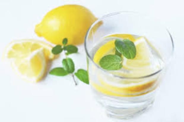 File photo: Lemon water