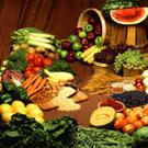 Vitamin C is important for the production of collagen and is found in brightly coloured fruit, Goji Berries, and vegetables