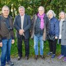 A group of French writers on their recent visit to Carlingford