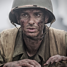 Andrew Garfield as Desmond T. Doss in Hacksaw Ridge