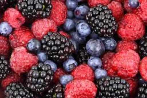Anti-oxidants found in vegetables and fruit, especially berries protect the skin from damage and can help slow the ageing process