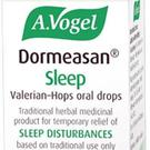 A.Vogel Dormeasan is a herbal remedy that contains valerian, a traditional remedy to help with sleep, and hops to relieve anxiety and stress