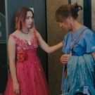 Saoirse Ronan and Laurie Metcalf as Christine and Marion McPherson in Lady Bird
