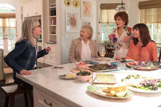 Diane Keaton, Candice Bergen, Jane Fonda and Mary Steenburgen are far better than Bill Holderman's picture deserves
