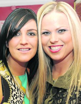 Sandra Fox, Greenacres and Michelle Ryan, Ard Easmuinn.