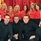 The group of dancers which took part in The Strictly Come Dancing Show held in St. Patrick's GFC Complex