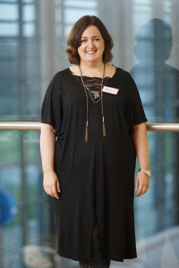 Yvonne Keenan is taking part in RTE television series Operation Transformation