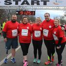 Yvonne with family members at the Operation Transformation 5km in the Phoenix Park last Saturday