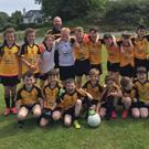 The Cuchulainn Gaels players who took part in the Michael Malone All Ireland U12 blitz