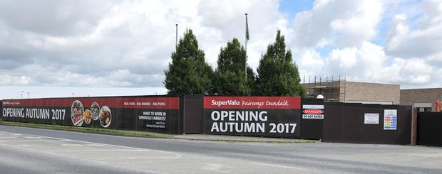 The new supermarket is due to open this autumn