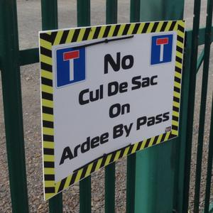 There is an ongoing campaign to prevent cul de sacs blocking access to Ardee town.
