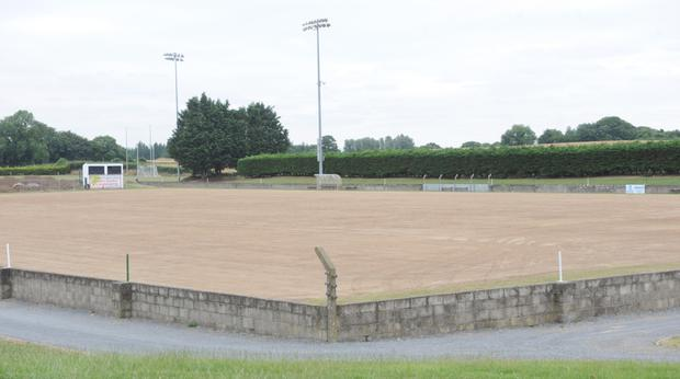 The new McGeough Park pitch