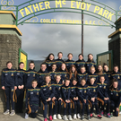 The Cooley girls before they headed west to compete in Feile 2019