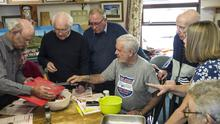 Dundalk Men's Sheds, pictured here at a pre-lockdown event, are to resume next Monday after nearly four months of lockdown
