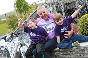 Irish Tour De France legend Stephen Roche launched the 2017 fundraiser for Down Syndrome Ireland