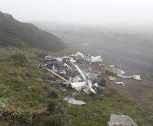 Household waste illegally dumped in Edentubber