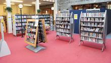 Dundalk Library. Louth libraries have a busy online programme. Photo: Aidan Dullaghan / Newspics