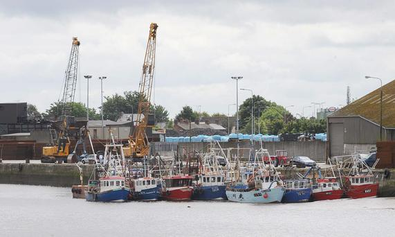 Dundalk Port.