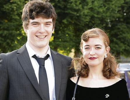 Malachy Burns and Florence O'Connor