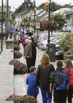 A walk on the Blackrock prominade, but don't forget you rain jacket or brolly.