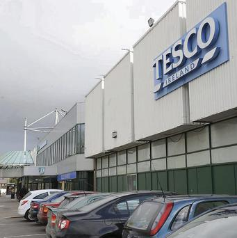 The Tesco store at Dundalk Shopping Centre.