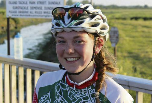 Cuchulainn Ladies Cycling Club member Lisa Neary.