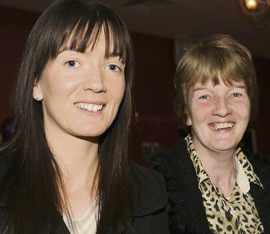 Sonia McGahon, Louth Village, and Rose Kearney, Corcreaghy.