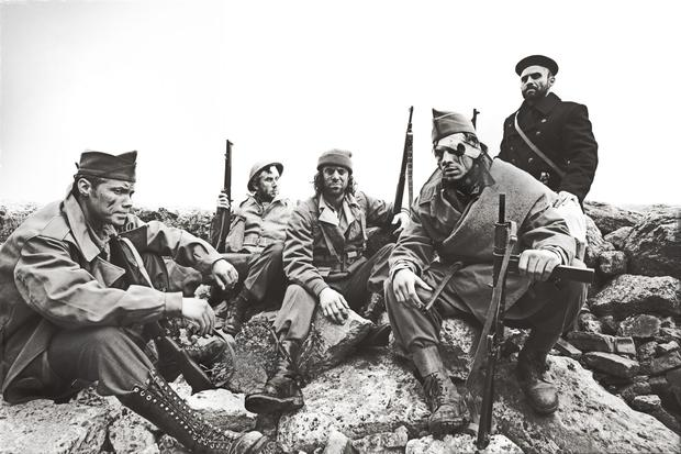 A picture shot during the Spanish Civil War