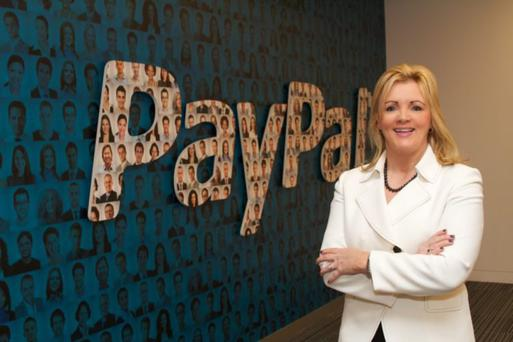 Louise Phelan, vice president global operations for PayPal in Europe, the Middle East and Africa at the PayPal operations centre in Dundalk