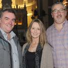 Garda Inspector Brian Mohan, Kathleen Maddy and Fr. Michael Cusack, who attended the 'Remembering Adrian' concert in St. Joseph's Redemptorist Church