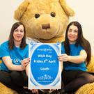 Irene Timmins and Emma Horgan launch Make a Wish Day in Louth