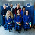 Teacher Victoria O'Hagan; Brian Killoran, CEO of the Immigrant Council of Ireland; Teacher Kay O'Shea; Noelle O'Connell, Executive Director of the European Movement, Ireland
