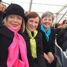 Members of the Cór Chairlinne at the choral extravaganza in Collins Barracks on Easter Sunday