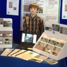 George Green at The Boring Postcard Company stand