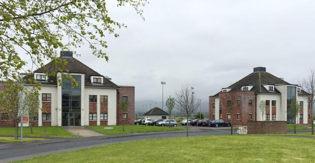 Apartment blocks at Ath Leathan on Dundalk's Racecourse Road have been identified as having fire safety issues following surveys carried out on Block A
