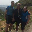 Ronan, Brendan and Clodagh in Vietnam