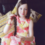 Kayla Clarke, who bravely donated her ponytail to the Rapunzel foundation and raised €804