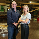 Gareth and Lorna Murphy, the creative team behind the bid to open a 'We Are Vertigo' adventure centre north of Dundalk