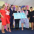 Danielle Wilson, MXB, Caroline McElroy, Marshes Personal Stylist, Neil Cole, NI Gossip Guy, Harry Traynor, Marshes Shopping Centre Manager, Nicole Caldwell, Marshes Best Dressed Lady 2016, Dáithí Ó Sé and Emma Meehan Dundalk, Stadium Sales & Marketing Manager
