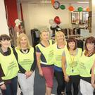 The group of volunteers in BB's pop-up shop on Park Street in aid of The Dundalk Simon Community. Included are, Nicola Mackin (left), Madeline Carroll, Bernie McConville, Sinead Wiseman, BB Lally, Edel Ross, Marie McSorley and Fiona Lennon