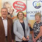 Mr Pat Kerins, Good Morning Louth Manager, Ms Anne Murphy, Good Morning Louth Coordinator and Ms Breege Conlon, Village/Homecare Coordinator, Moorehall Lodge Retirement Village