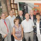 Members of the O'Hanrahan family who attended the O'Hanrahan Chronicies exhibition in The County Museum, Dundalk. Included are, Pearse, Martin, Harry, Micheál, Liam, Briege, Richard and Margaret