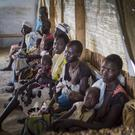An image from war-torn South Sudan, where Concern runs a huge camp with the UN